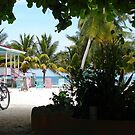 Caye Caulker at Noon by Cathy Jones