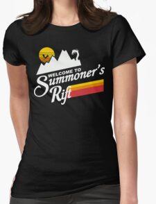 Summoners Rift Funny Geek Nerd Womens Fitted T-Shirt