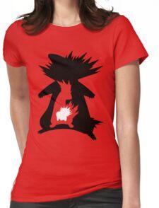 Cyndaquil Evolution T-Shirt Womens Fitted T-Shirt