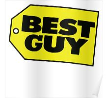 Best Guy - Best Buy Spoof Logo Poster
