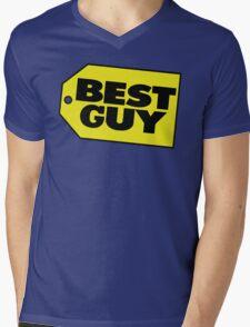 Best Guy - Best Buy Spoof Logo Mens V-Neck T-Shirt