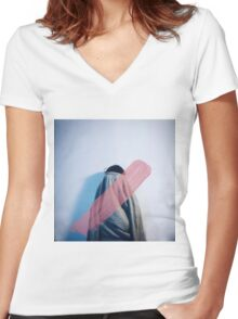 Femininity Women's Fitted V-Neck T-Shirt