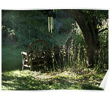 Lawn Chairs Poster