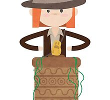 Bullie & Duck Play Indiana Jones by penelope-anne