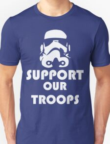 Support our Troops Funny Geek Nerd Unisex T-Shirt