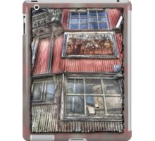 Rusty Grungy Weathered Abandoned Building Exterior iPad Case/Skin