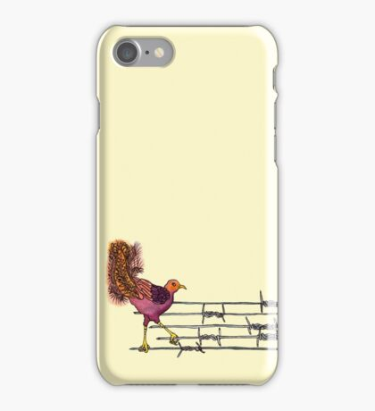 Lyre on the Wire iPhone Case/Skin