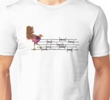 Lyre on the Wire Unisex T-Shirt