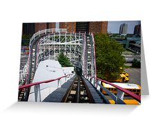 Ride the Coney Island Cyclone Greeting Card