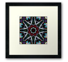 And the Sky Tore Asunder Framed Print