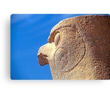 Statue of Horus in Edfu Temple Canvas Print
