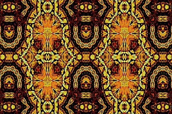 Michael's Golden Carpet by owlspook