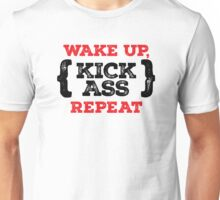 Motivational - Kick ass Unisex T-Shirt