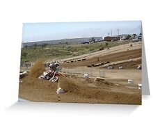 Loretta Lynn SW Qualifier Rider #46 Roost @ Competitive Edge MX Hesperia, CA, (267 views as of May 9, 2011) Greeting Card