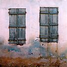 Shutters on pink, Bergama by culturequest