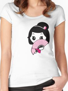 Shy Geisha Women's Fitted Scoop T-Shirt