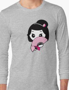 Shy Geisha Long Sleeve T-Shirt