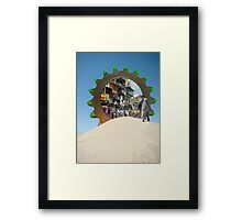 I think I finally got my Stargate to Pakistan Working Again Framed Print