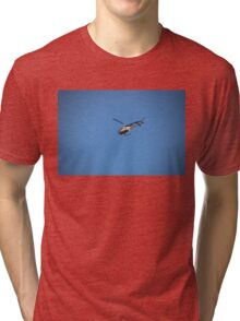 Channel 9 Helicopter Tri-blend T-Shirt