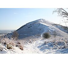 Snow on the Hill Photographic Print