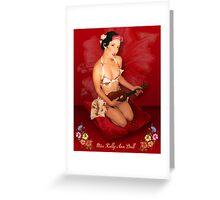 Hawaiin dream Greeting Card