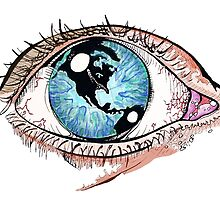Then One Day, The Earth Was In Her Eye by liamreading