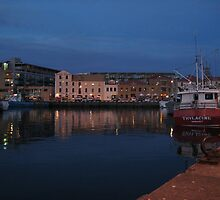 Constitution Dock - Tasmania by Paul Coussa