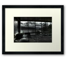 Along The Loch Framed Print