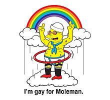 Gay For Moleman Photographic Print