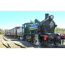 Locomotive K163 Photographic Print