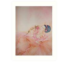 Sweet Performance 'Le Belle Ballerine' © Patricia Vannucci 2008 Art Print