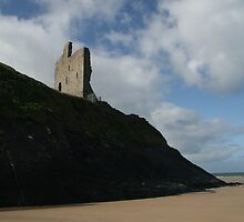 Ballybunion Castle by Donal O Faogain