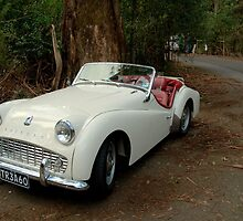 Triumph TR3A by Tom Newman