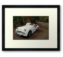 Triumph TR3A Framed Print