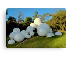 Tarax Play Sculpture  - Peter Corlett Canvas Print
