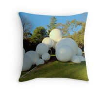 Tarax Play Sculpture  - Peter Corlett Throw Pillow