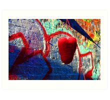 heart strings Art Print