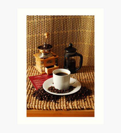coffee crop Art Print