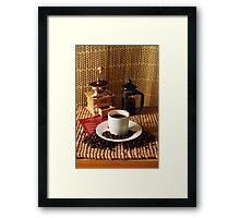 coffee crop Framed Print