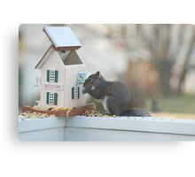 Eating me out of house and home Metal Print