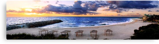 Cottesloe Sunset by Kirk  Hille