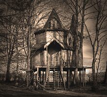 Fairy Treehouse 2 by Mark Andrew Turner