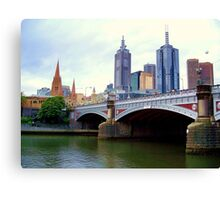 Princes Bridge Melbourne Canvas Print