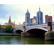 Princes Bridge Melbourne Photographic Print