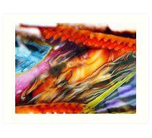 Colours of Bridlington (i) Art Print