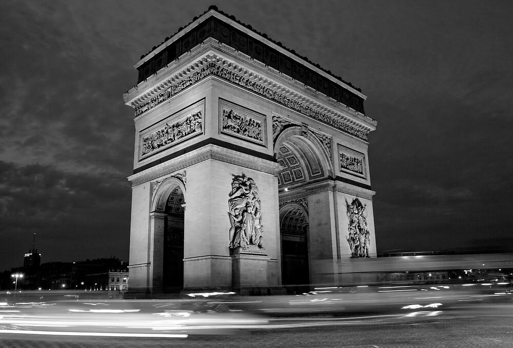 Paris Rush Hour by Chris Putnam