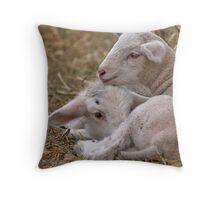 Lamb Snuggle Throw Pillow