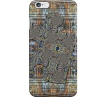Rusty Grungy Wall with Electric Wires Puzzle Piece iPhone Case/Skin