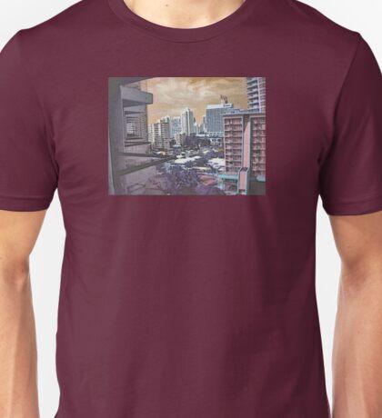 strange city Unisex T-Shirt