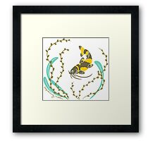 Clever Fish Framed Print